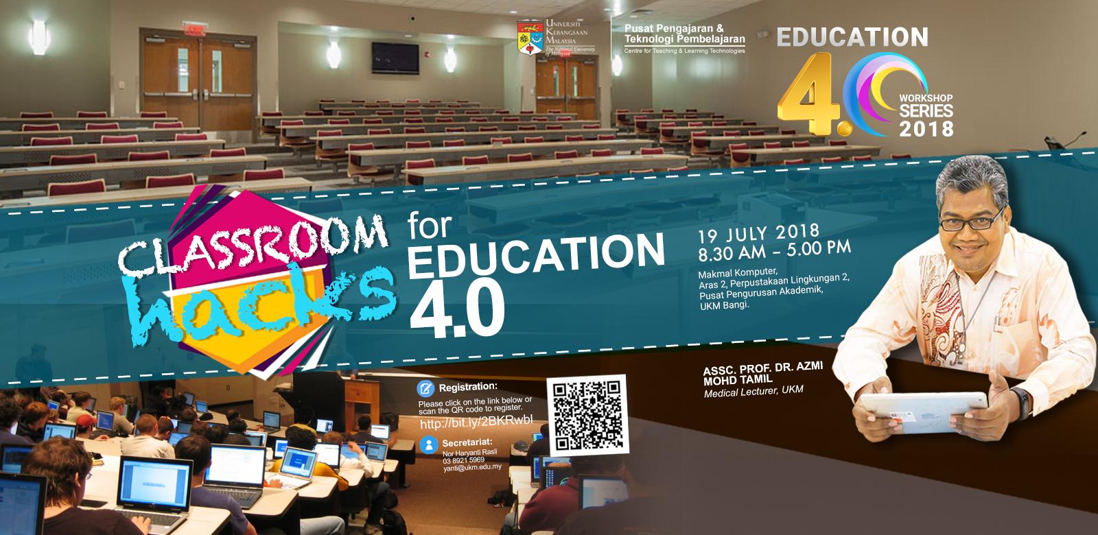 CLASSROOM HACKS for education 4.0