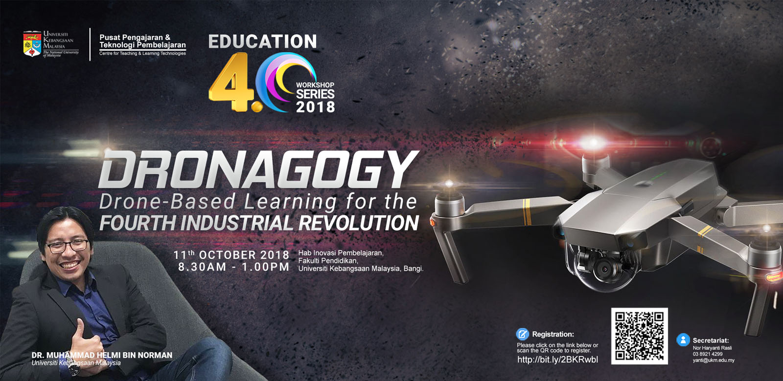 DRONAGOGY: DRONE-BASED LEARNING FOR THE FOURTH INDUSTRIAL REVOLUTION