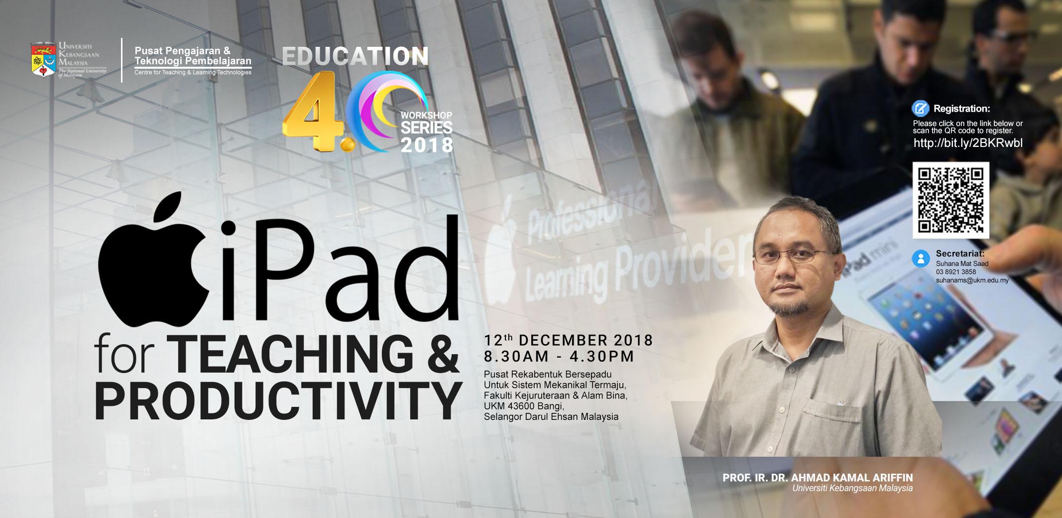 iPad for Teaching & Productivity