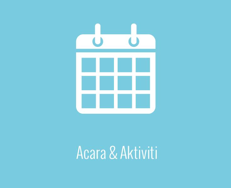 Acara & Aktiviti