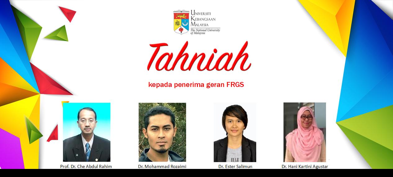 Tahniah FRGS