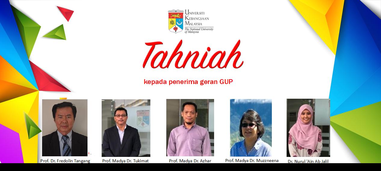 Tahniah GUP