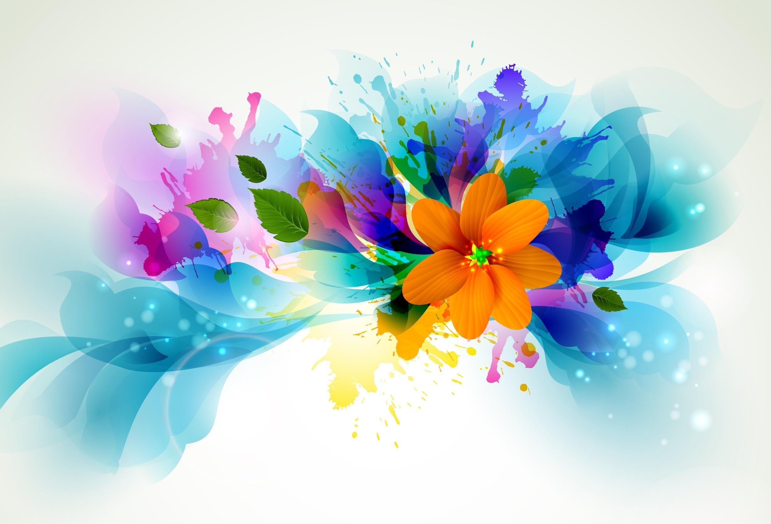 colorful-abstract-flowers-1920x1080-Widescreen-High-Resolution-1080p-HD-Desktop-Wallpaper