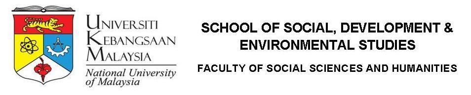 Pusat Pengajian Sosial, Pembangunan dan Persekitaran