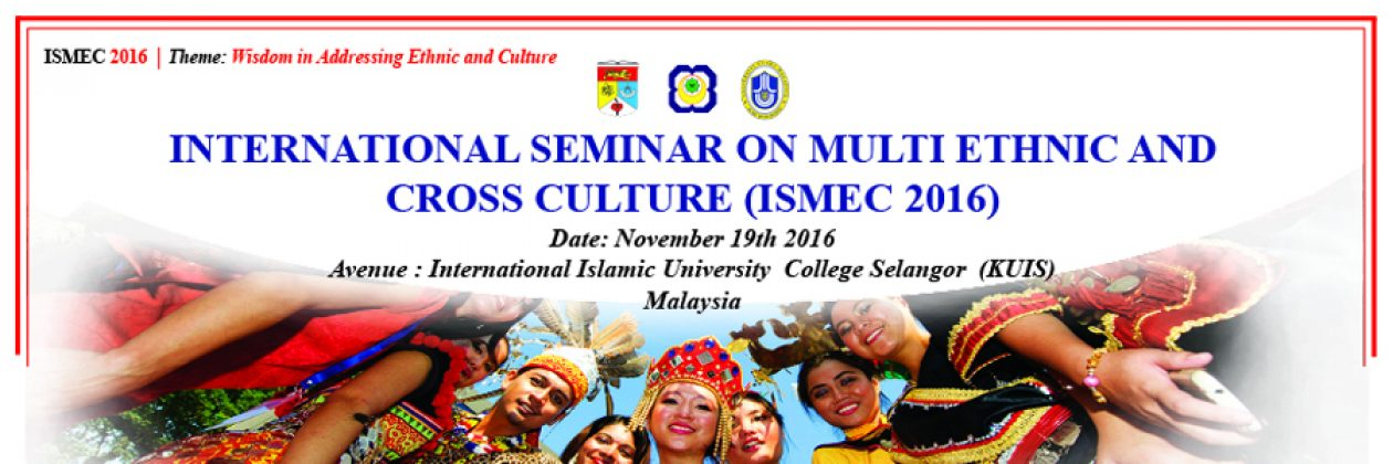International Seminar On Multi Ethnic And Cross Culture