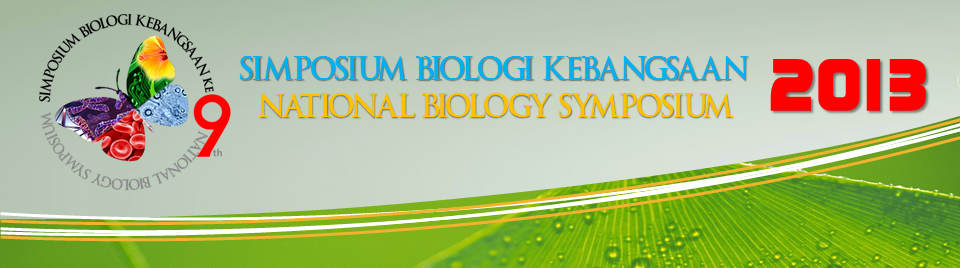 SIMPOSIUM BIOLOGI KEBANGSAAN 2013