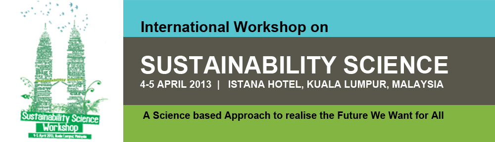 International Workshop on Sustaibility Science