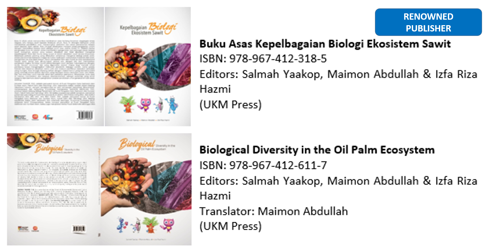 Publications 2014 2019 Ukm Ysd Chair In Climate Change