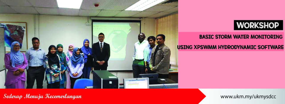 Workshop on Basic Storm Water Monitoring Using XPSWMM Hydrodynamic Software
