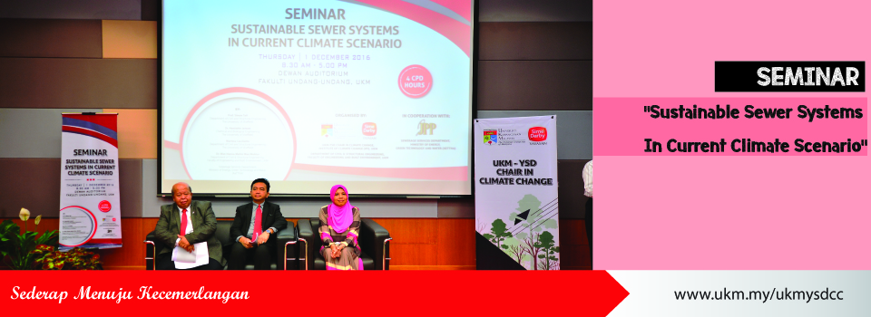 "Seminar on ""Sustainable Sewer Systems In Current Climate Scenario"""