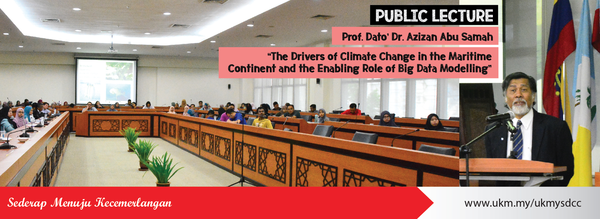 Public Lecture: The Drivers of Climate Change in the Maritime Continent and the Enabling Role of Big Data Modelling