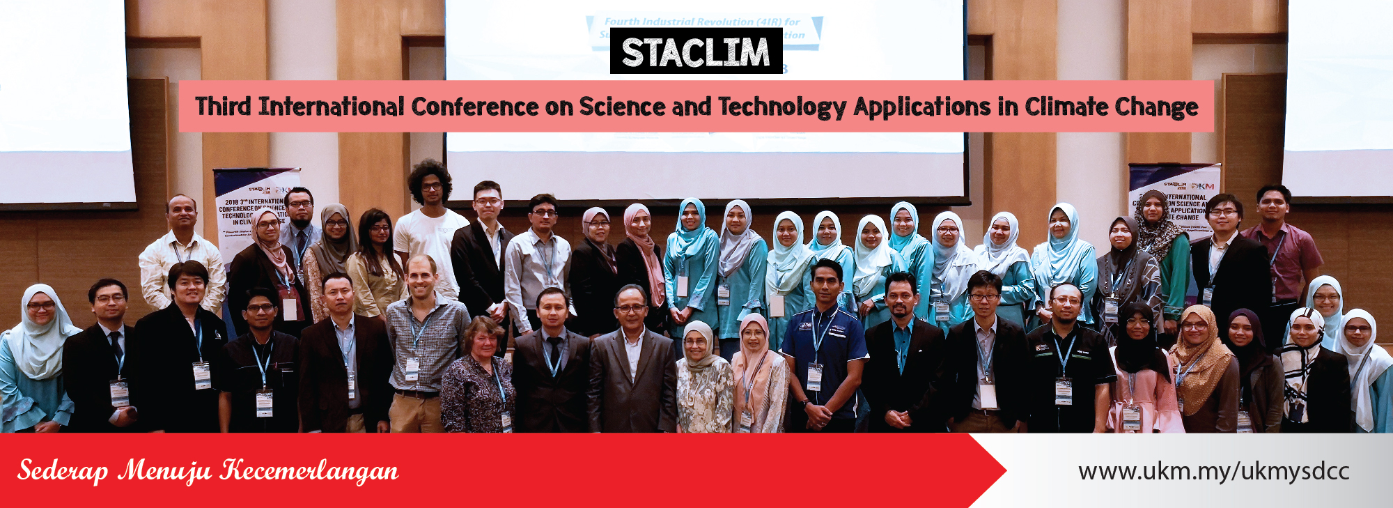 Third International Conference on Science and Technology Applications in Climate Change (STACLIM 2018)