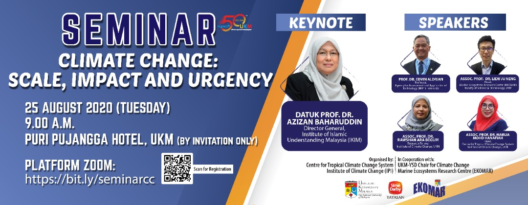 "Seminar ""Climate Change:Scale, Impact and Urgency"""