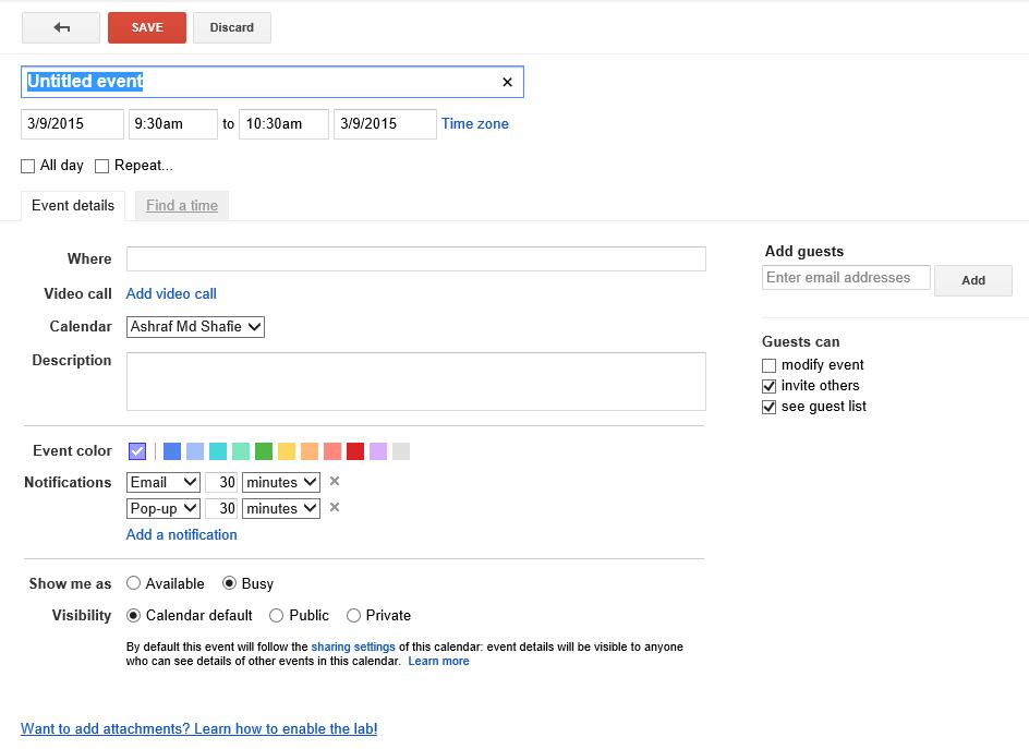 how to add my outlook calendar to google calendar