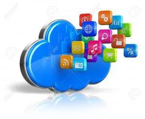 cloud computing blue