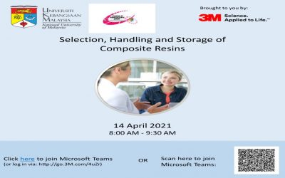 MoU: Faculty of Dentistry and 3M Malaysia Sdn Bhd