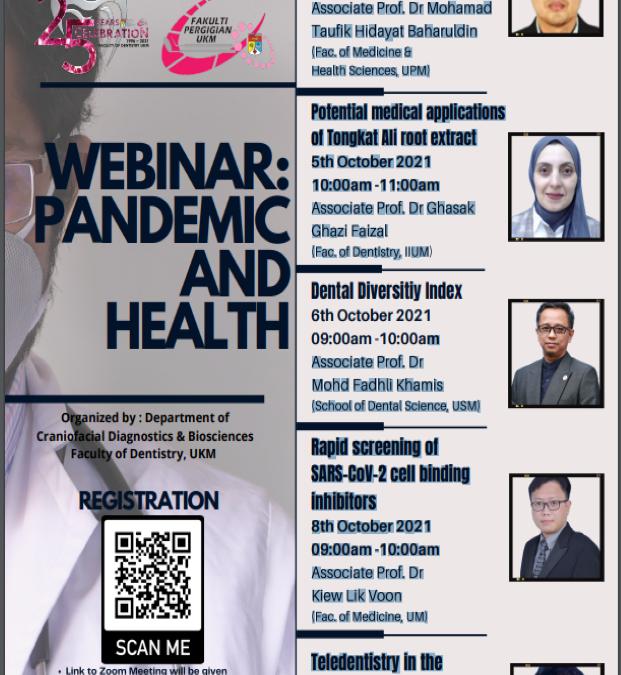 Webinar: Pandemic & Health