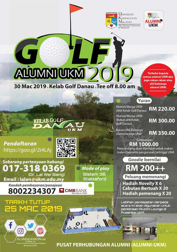 GOLF ALUMNI UKM 2019