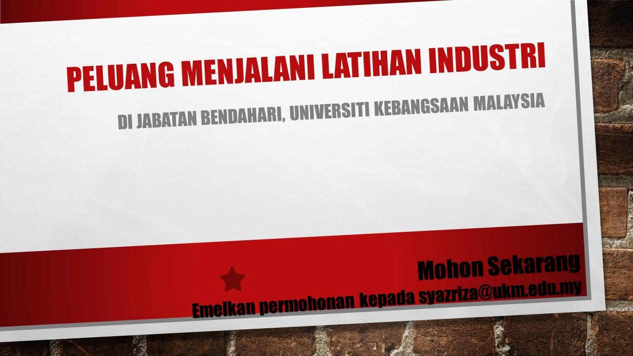 Peluang Latihan Industri