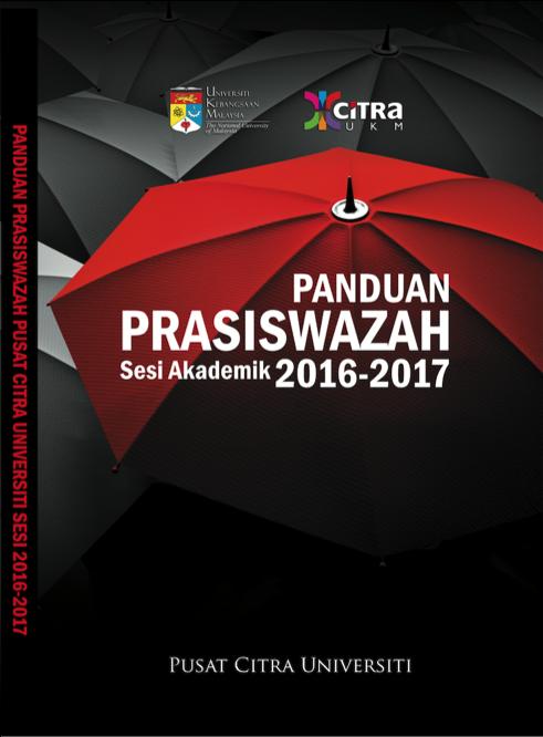 BUKU PANDUAN PRASISWAZAH PUSAT CITRA UNIVERSITI SESI AKADEMIK 2016-2017