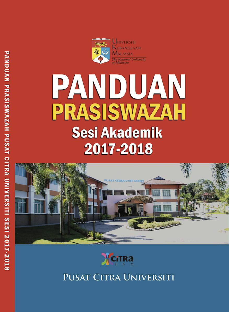 BUKU PANDUAN PRASISWAZAH PUSAT CITRA UNIVERSITI SESI AKADEMIK 2017-2018