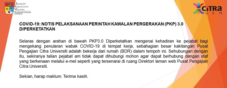 Makluman PKP 3.0