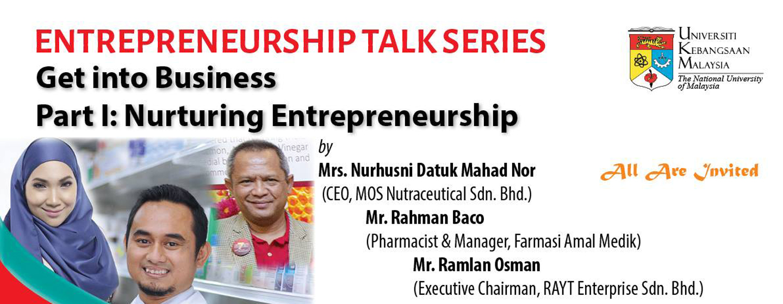 Entrepreneurship Talk Series