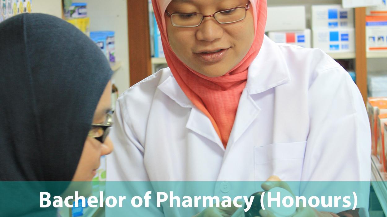 Bachelor of Pharmacy (Honours)