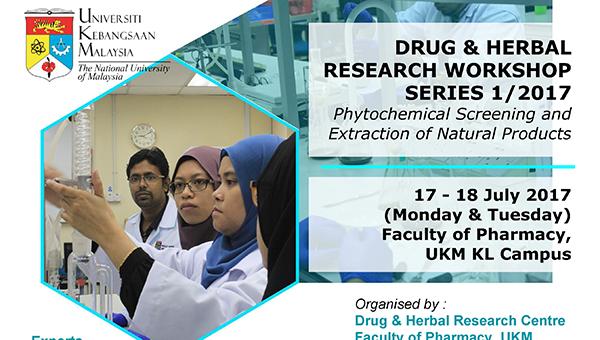 Drug Herbal Research Workshop