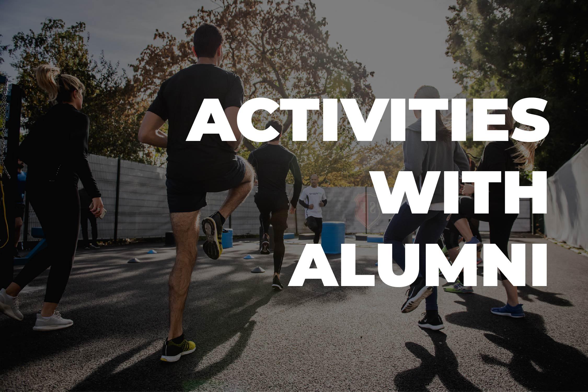 Activity With Alumni