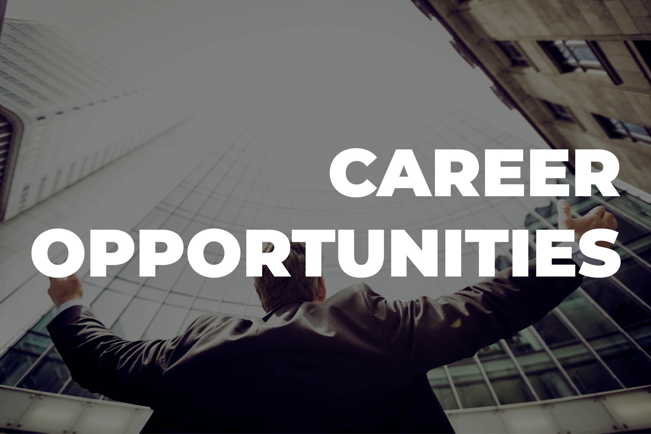 Career Oppurtunity