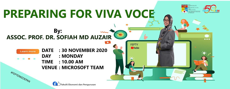 Preparing for Viva Voce
