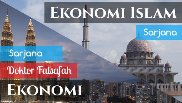 Ekonomi dan Ekonomi Islam – Pascasiswazah