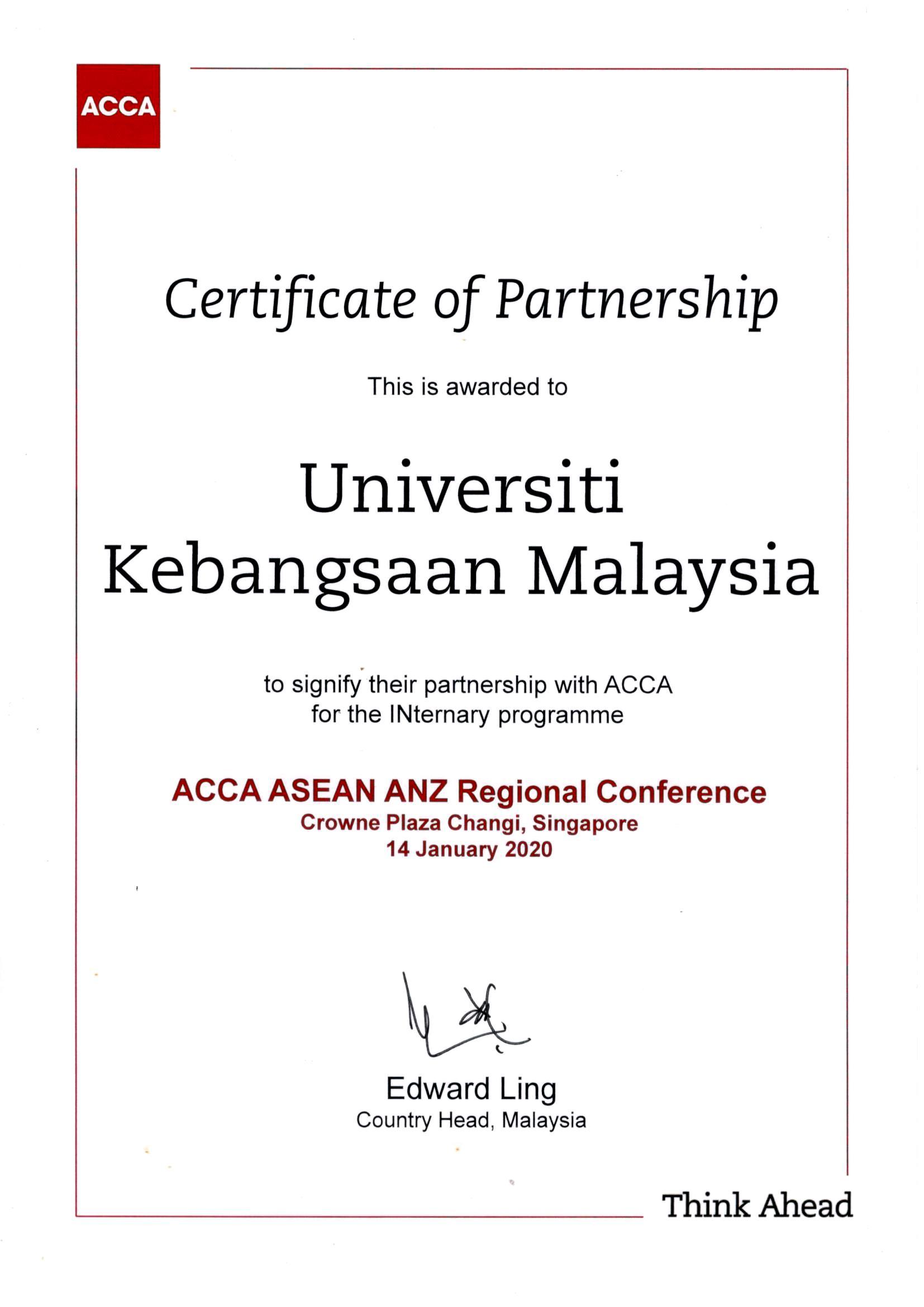 sijil acca
