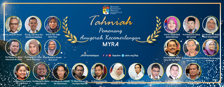 Tahniah MYRA