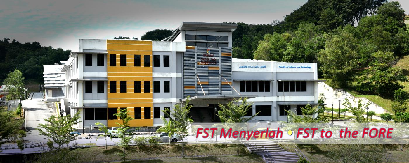 Fakulti Sains Dan Teknologi Fst Menyerlah