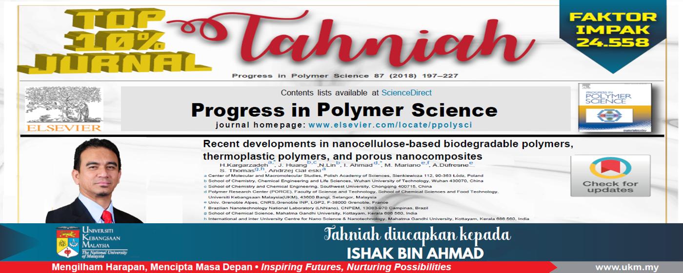 Tahniah Prof. Dr. Ishak Ahmad