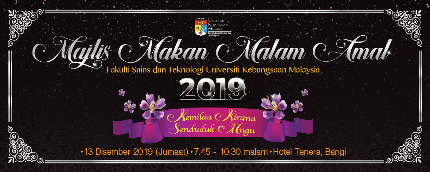 Majlis Makan Malam Amal FST 2019