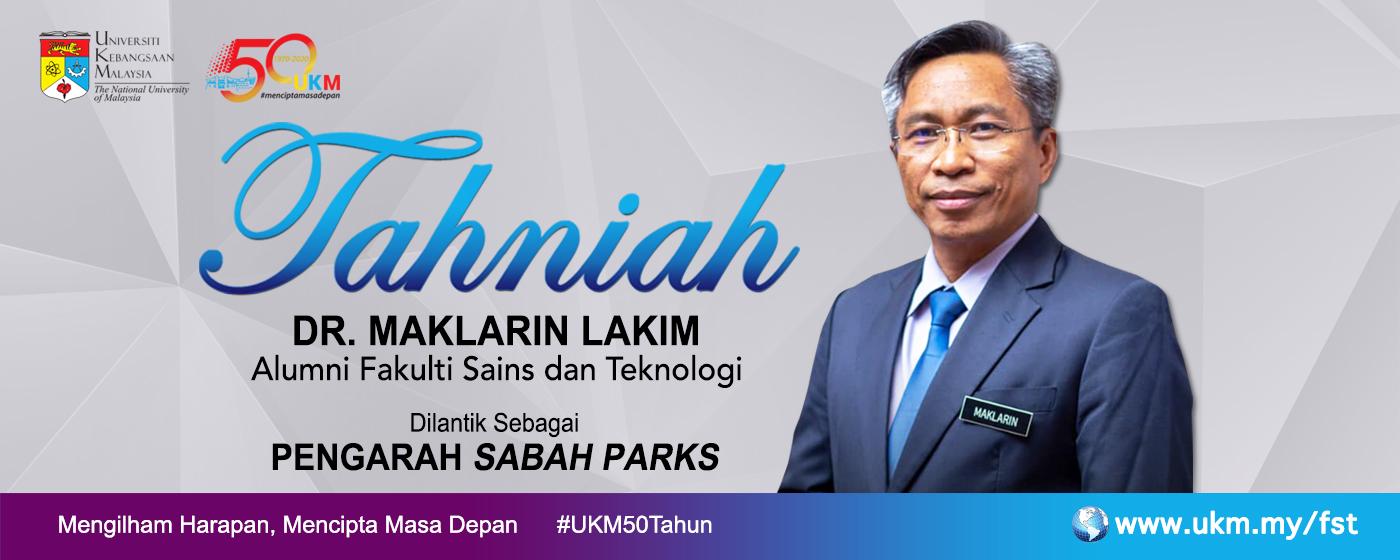 Tahniah Dr. Maklarin Lakim