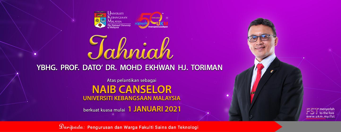 Tahniah VC Dato' Ekhwan Toriman