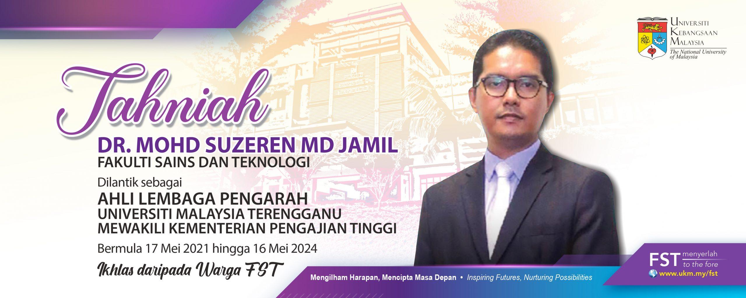 Tahniah Dr Suzeren