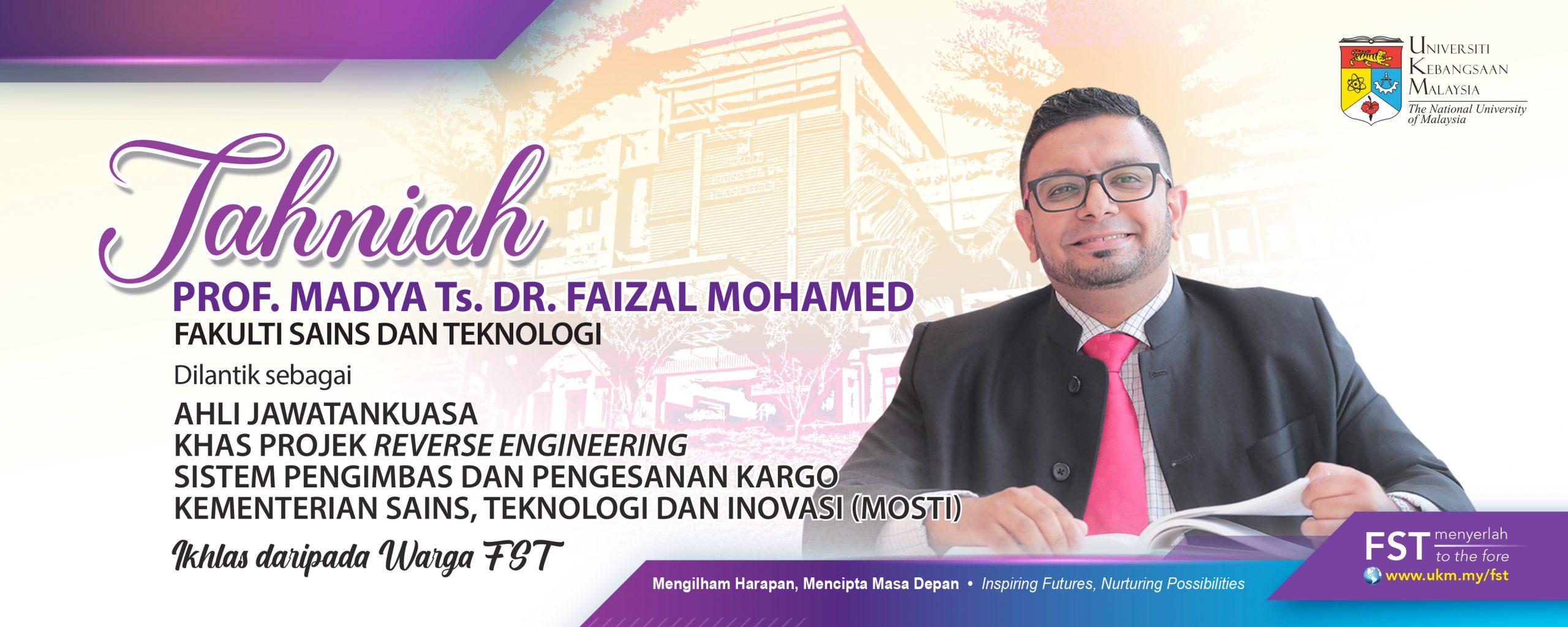 Tahniah Dr. Faizal