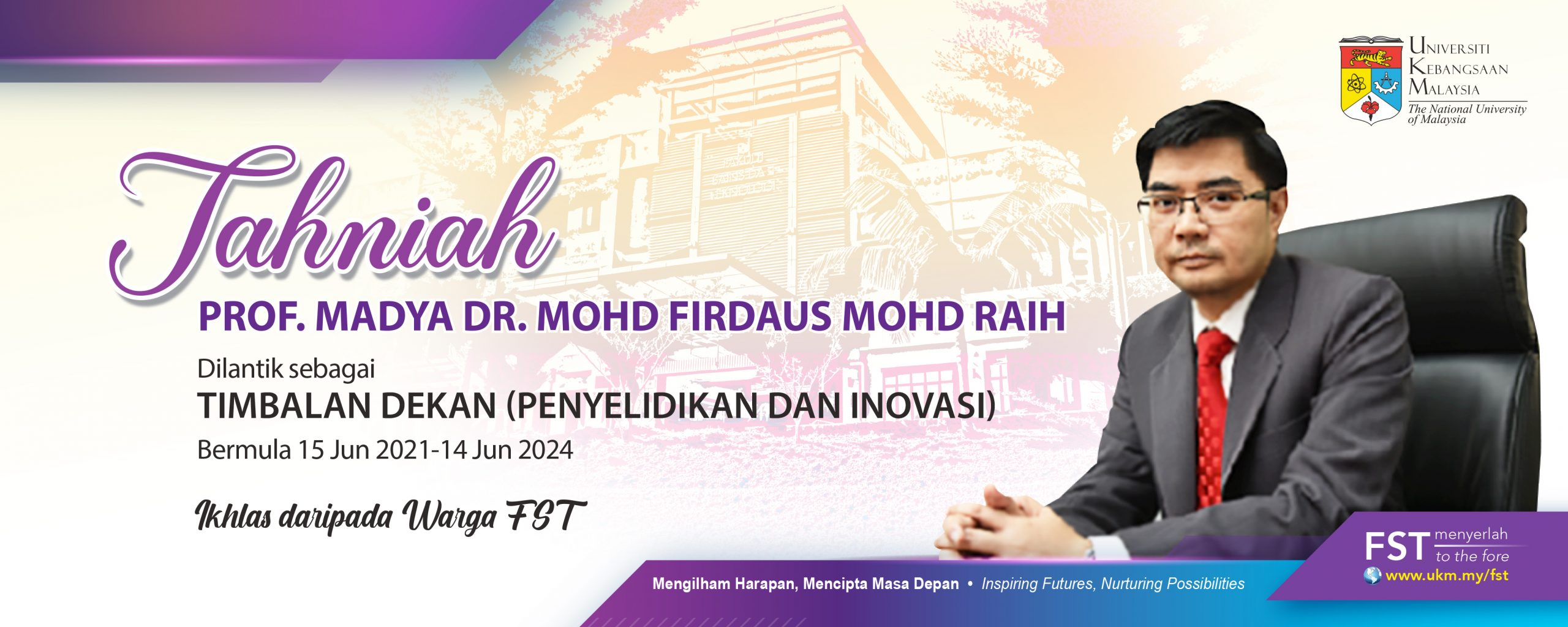 Tahniah Dr. Firdaus