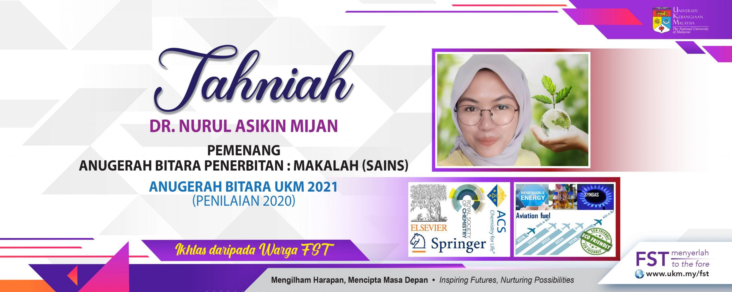Tahniah bitara Dr. nurul