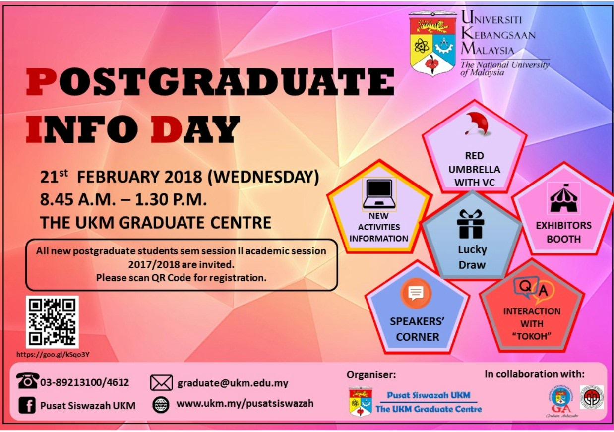 Postgraduate Info Day 2018