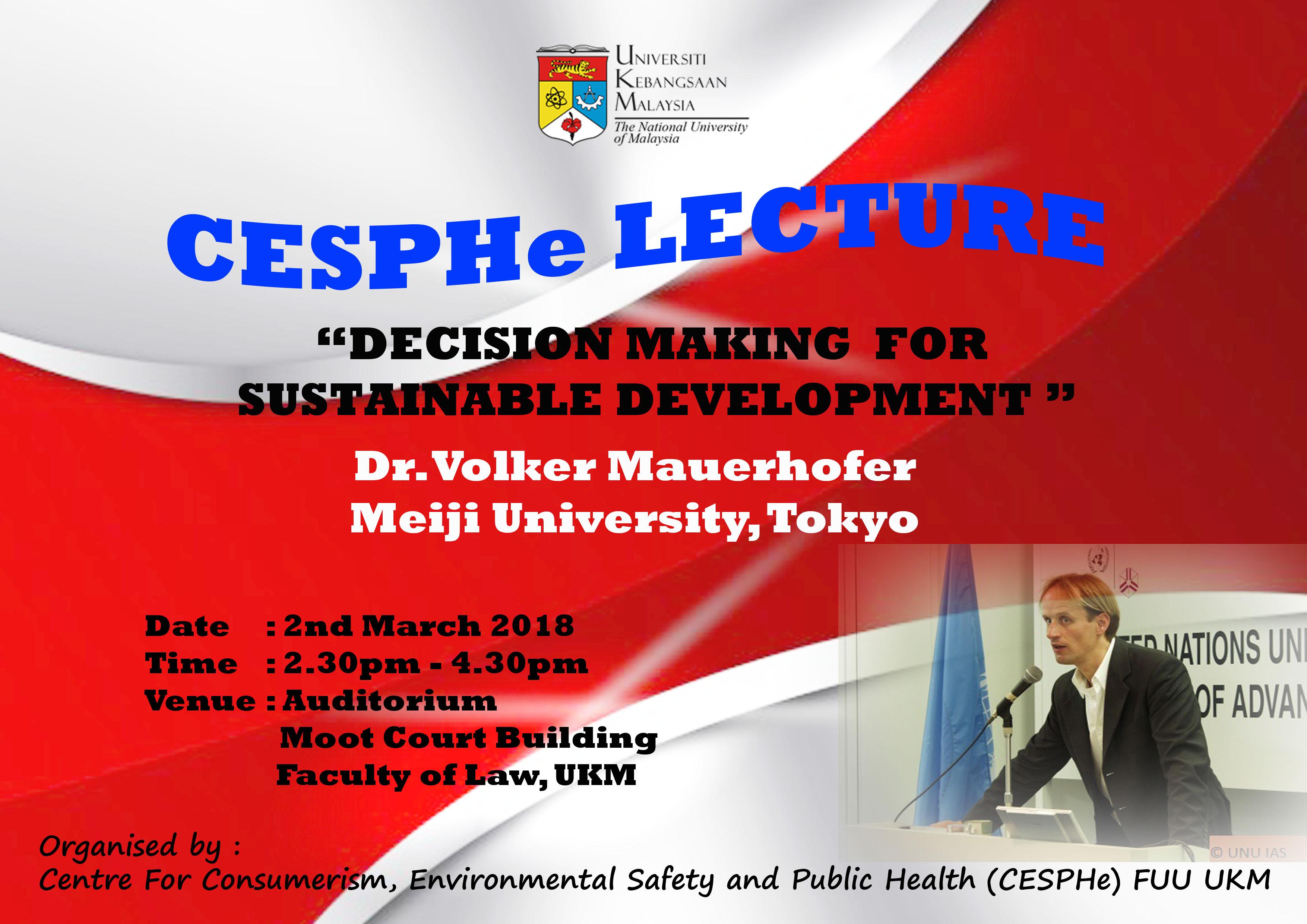 CESPHe Lecture