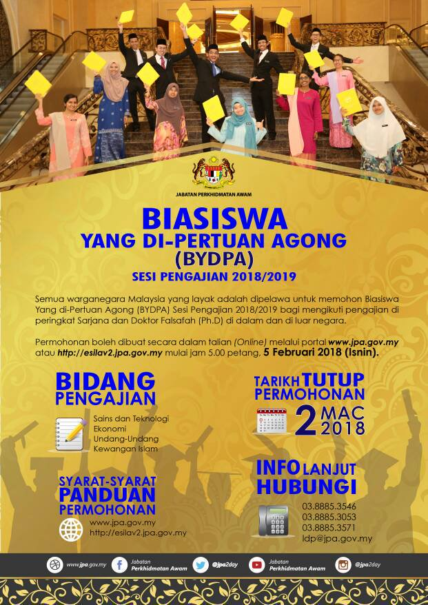 Biasiswa Yang Di-Pertuan Agong (BYDPA)