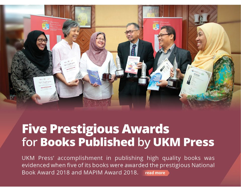 Five Prestigious Awards for Books Published by UKM Press
