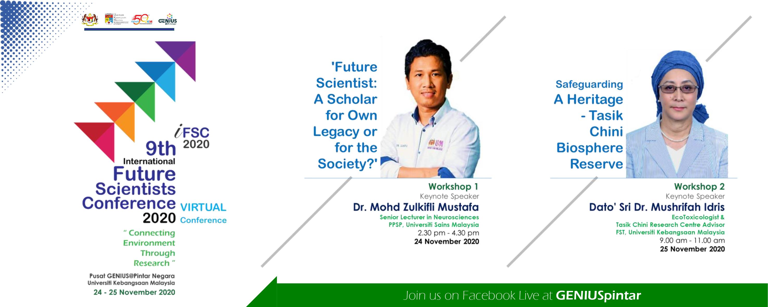 Workshop International Future Scientist Conference