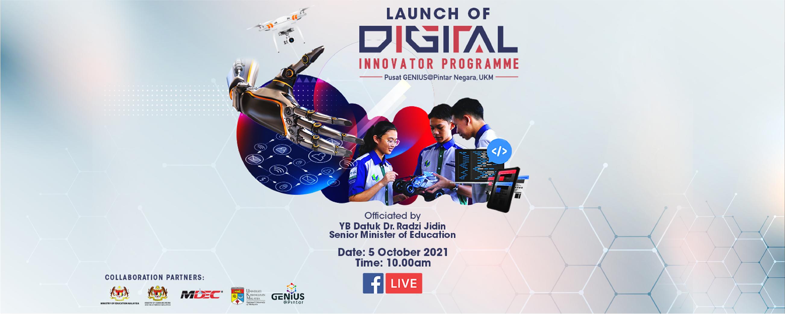 Majlis Pelancaran Digital Innovator Programme